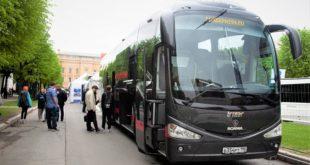 Автобусы Scania для для туристических