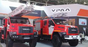 Пожарно-спасательные автомобили Урал NEXT