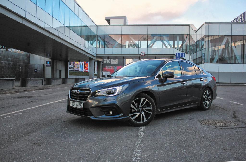 Тест Subaru Legacy