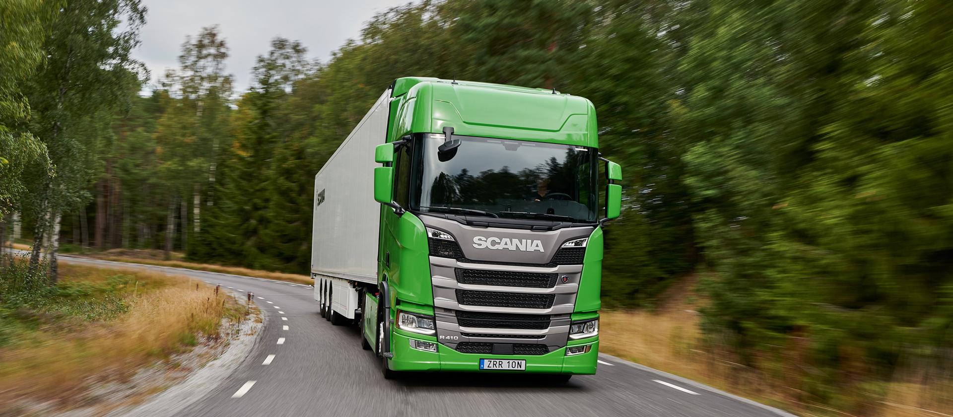 Тягачи Scania признаны самыми экономными