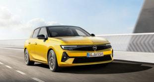 шестое поколение Opel Astra