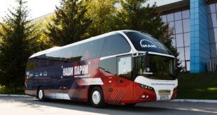 Автобус сборной России по футболу