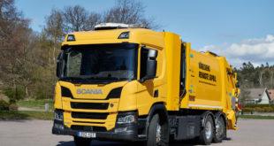 Scania на водороде