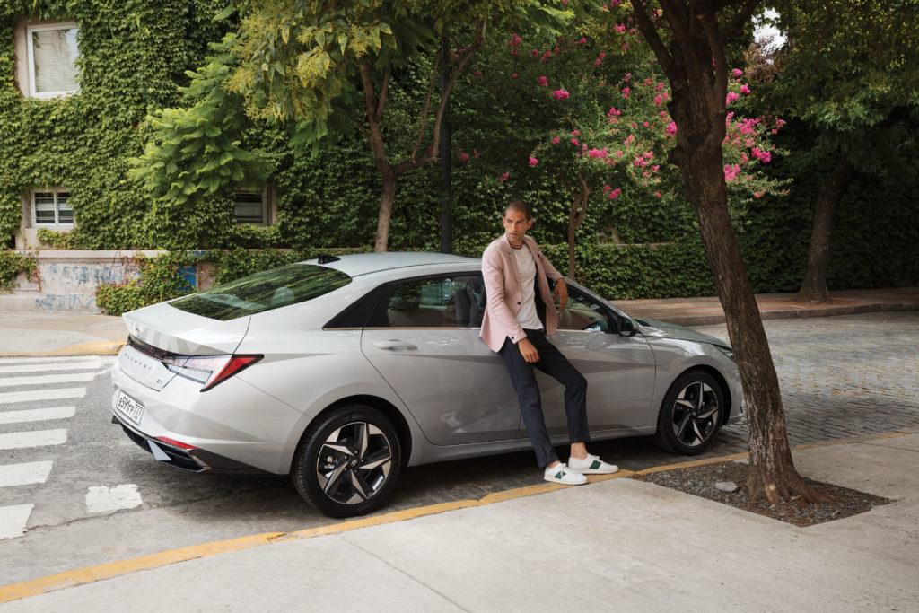 Elantra в парке Hyundai Mobility