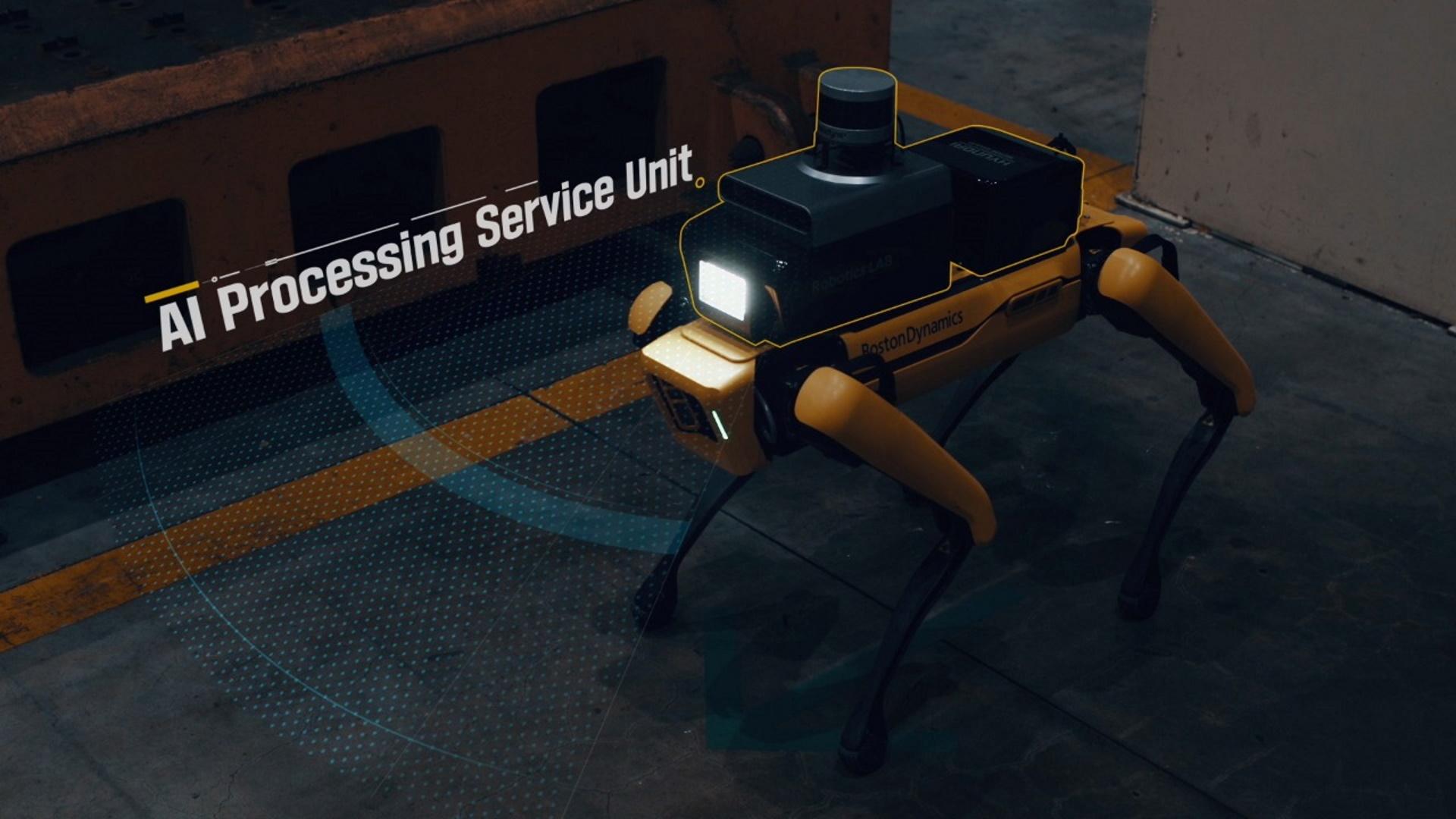 Hyundai и Boston Dynamics создали андроида для безопасности промышленных объектов