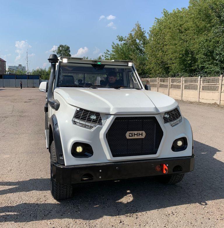 Дизельный внедорожник MUV5 в России