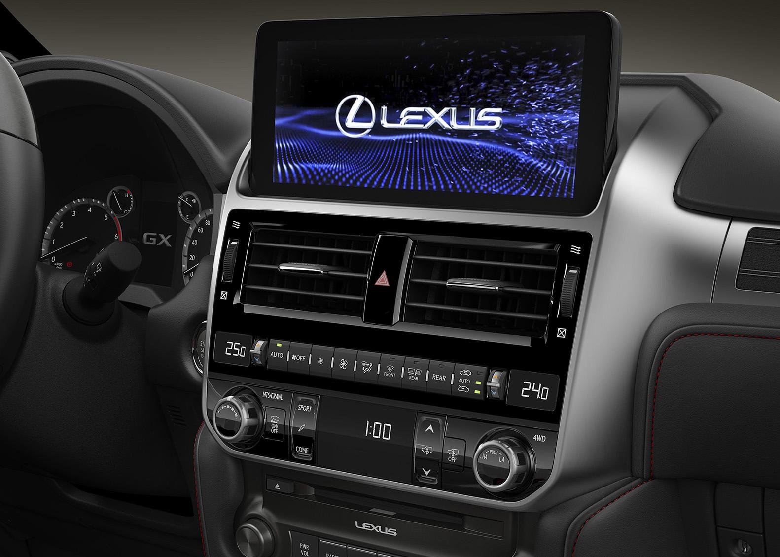 В РФ начались продажи обновленного Lexus GX 460